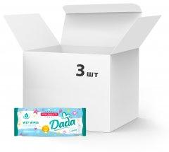 Упаковка влажных салфеток DADA без запаха 3 пачки по 60 шт (5900785999870)