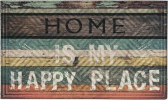 Грязезащитный коврик MultyHome Lima Happy Place 45х75 (5903104900557)