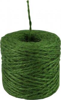 Шпагат джутовый Радосвіт двухниточный 45 м Зеленый (4820172931881)