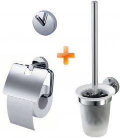 Набор аксессуаров для ванной комнаты KOLLER POOL Twin 1194077 3в1 (designet by Haceka B.V)