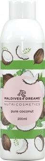 Натуральное кокосовое масло для тела и волос Maldives Dreams 200 мл (4820173326266)