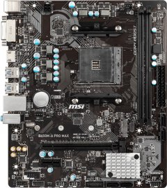 Материнская плата MSI B450M-A Pro Max (sAM4, AMD B450, PCI-Ex16)