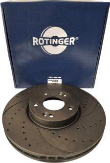 Диск тормозной Rotinger Infiniti Q50, Nissan Murano 2 шт (RT 21552-GL T5)