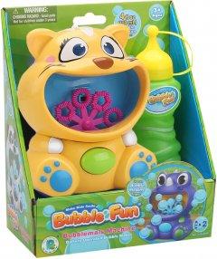 Мыльные пузыри Make Kids Smile Bubble Fun Котик 120 мл (DHOBB10470B)