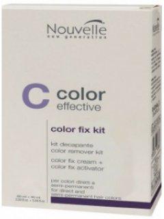 Средство для удаления полуперманентной краски Nouvelle Color Fix Kit 150 мл (8025337317357)