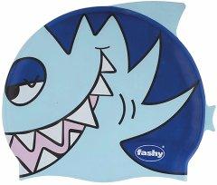Шапочка для плавания Fashy силиконовая Голубой/Синий (3048 01)