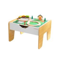 Деревянный игровой стол KidKraft с доской для конструкторов (10039)