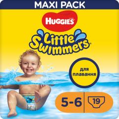 Трусики-подгузники для плавания Huggies Little Swimmers 5-6 12-18 кг 19 шт (5029053538433)