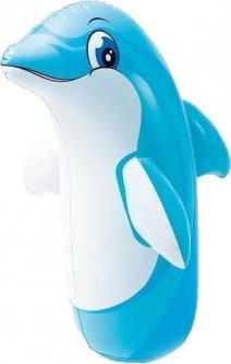 Неваляшка надувная Intex 44669 Животные 91 см (44669 дельфин)