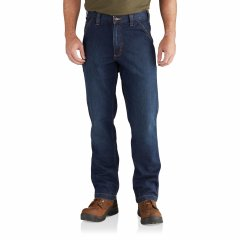 Джинси Carhartt 102808 Rugged Flex Dungaree Jeans - Relaxed Fit, Factory Seconds Superior , 42W 32L (11236176)