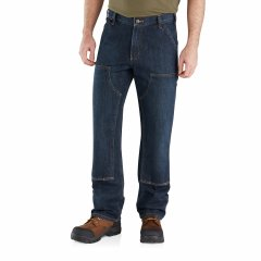Джинси Carhartt 103328 Holter Relaxed Fit Double-Front Dungaree Jeans - Factory Seconds Blue Ridge, 38W 32L (11334765)