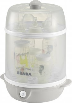Стерилизатор Beaba Steril Express Evolutif электрический паровой 2 в 1 Серый (911550)