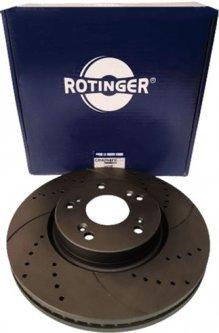 Диск тормозной Rotinger Honda Civic IX, X 2 шт (RT 21536-GL T5)