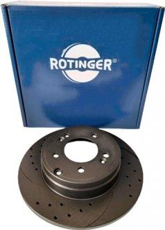 Диск тормозной Rotinger Mazda 6, CX-5 2 шт (RT 21447-GL T5)