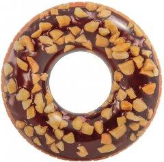Надувной круг кресло Intex Пончик в шоколаде 99 см (56262)