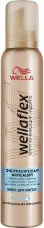 Мусс для волос Wella Wellaflex Экстрасильная фиксация 200 мл (4056800114733)
