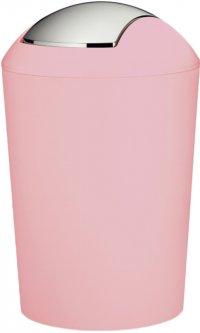 Ведро для мусора Kela Marta розовое (24375)