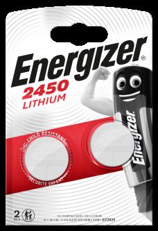Батарейки Energizer CR2450 Lithium 2 шт (E300830703) (7638900381795)