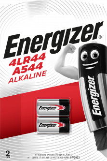 Батарейки Energizer A544/4LR44 Alk 2 шт (E301536000) (7638900393354)