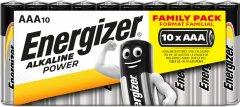 Батарейки Energizer AAA Family Pack nopeg inTray 10 шт (6443165) (7638900300666)