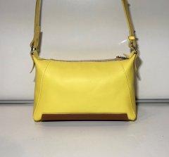 Женская сумка Alpaca Лимонная из натуральной кожи ALP132