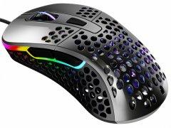 Мышь Xtrfy M4 RGB USB Glossy Gray (XG-M4-RGB-GLOSSY)