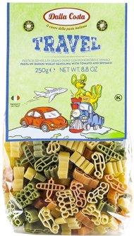 Макаронные изделия DALLA COSTA Путешествие с томатом и шпинатом 250 г (8016419128114)
