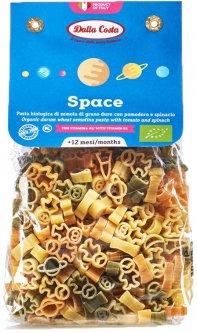 Макаронные изделия DALLA COSTA Космос с томатом шпинатом и витамином B1 Органические 200 г (8016419001851)
