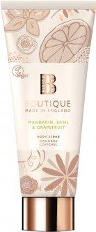 Скраб для тела Grace Cole Body Scrub Boutique Mandarin, Basil & Grapefruit 225 г (5055443670803)