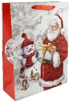 Набор пакетов подарочных Angel Gifts 310x400x120 мм 3 дизайна 12 шт (Я44983_AG91311(21)_12)