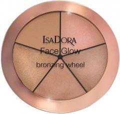 Хайлайтер для лица Isadora Face Glow Bronzing Wheel палетка 52 beach glow 18 г (7317851187525)