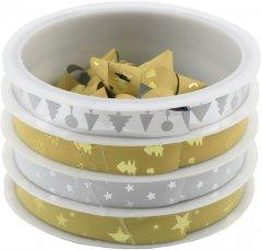 Набор для упаковки подарков Angel Gifts 24 шт бантов и 24 шт лент в упаковке микс цветов (Я45049_AG1250_6)