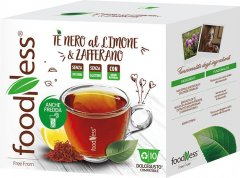 Капсульный чай FoodNess Dolce Gusto Лимон и шафран 10 капсул х 15 г (8031848007298)