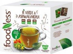 Капсульный чай FoodNess Dolce Gusto Зеленый чай с ашвагандой 10 капсул х 12 г (8031848007304)