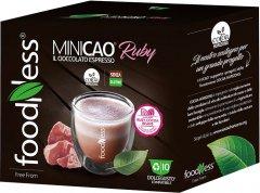 Капсульный напиток шоколад Foodness Dolce Gusto Minikao Ruby красные какао бобы 10 капсул х 15 г (8031848010434)