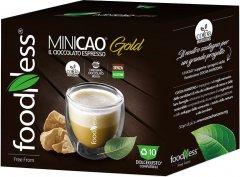 Капсульный напиток шоколад Foodness Dolce Gusto Minikao Gold желтые какао бобы 10 капсул х 17 г (8031848010410)
