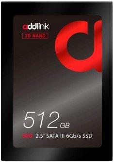 "AddLink S20 512GB 2.5"" SATAIII 3D NAND TLC (ad512GBS20S3S)"