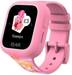 Детские телефон-часы с GPS трекером Elari FixiTime Lite Pink (ELFITL-PNK)