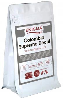 Кофе в зернах Enigma Colombia Supremo Decaf 250 г (4000000000062)