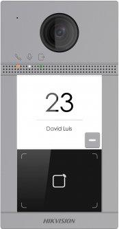 IP вызывная панель Hikvision на одного абонента c ИК подсветкой и Wi-Fi DS-KV8113-WME1(B)