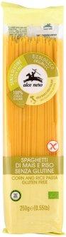 Спагетти Alce Nero Кукурузно-рисовые без глютена Органические 250 г (8009004811522)