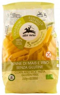 Пенне Alce Nero Кукурузно-рисовые без глютена Органические 250 г (8009004811546)