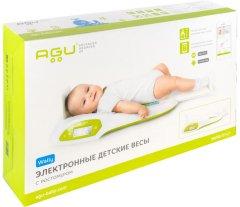 Весы детские электронные Agu Baby Ag с ростомером (7640187397086)