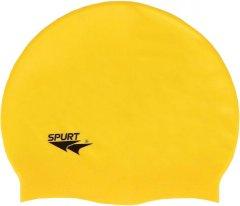 Шапочка для плавания Spurt Silicone F201 Onesize Yellow (F201)