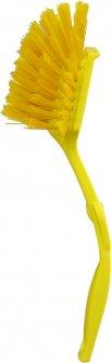 Щетка для мытья посуды Zambak Plastik Lux 8 х 23 х 5 см Желтая (ZP84049/Y)