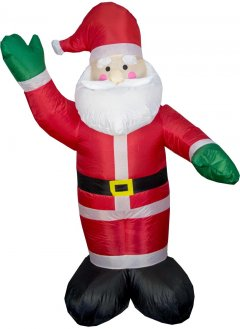 Новогодняя декорация Mag-2000 Дед мороз надувной 180 см (830015)