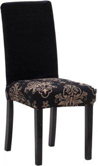 Чехол на квадратный стул Supretto Черный (5917-0001)