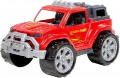 Автомобиль Polesie Легион №3 Красный (76120)