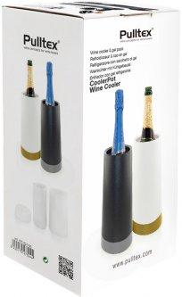 Ведро-охладитель для бутылки вина или шампанского Pulltex Wine & Champagne Cooler Pot Black (109-631-00)