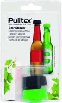 Пробка силиконовая для бутылки пива Pulltex Beer Stopper 2 шт (117-935-01)
